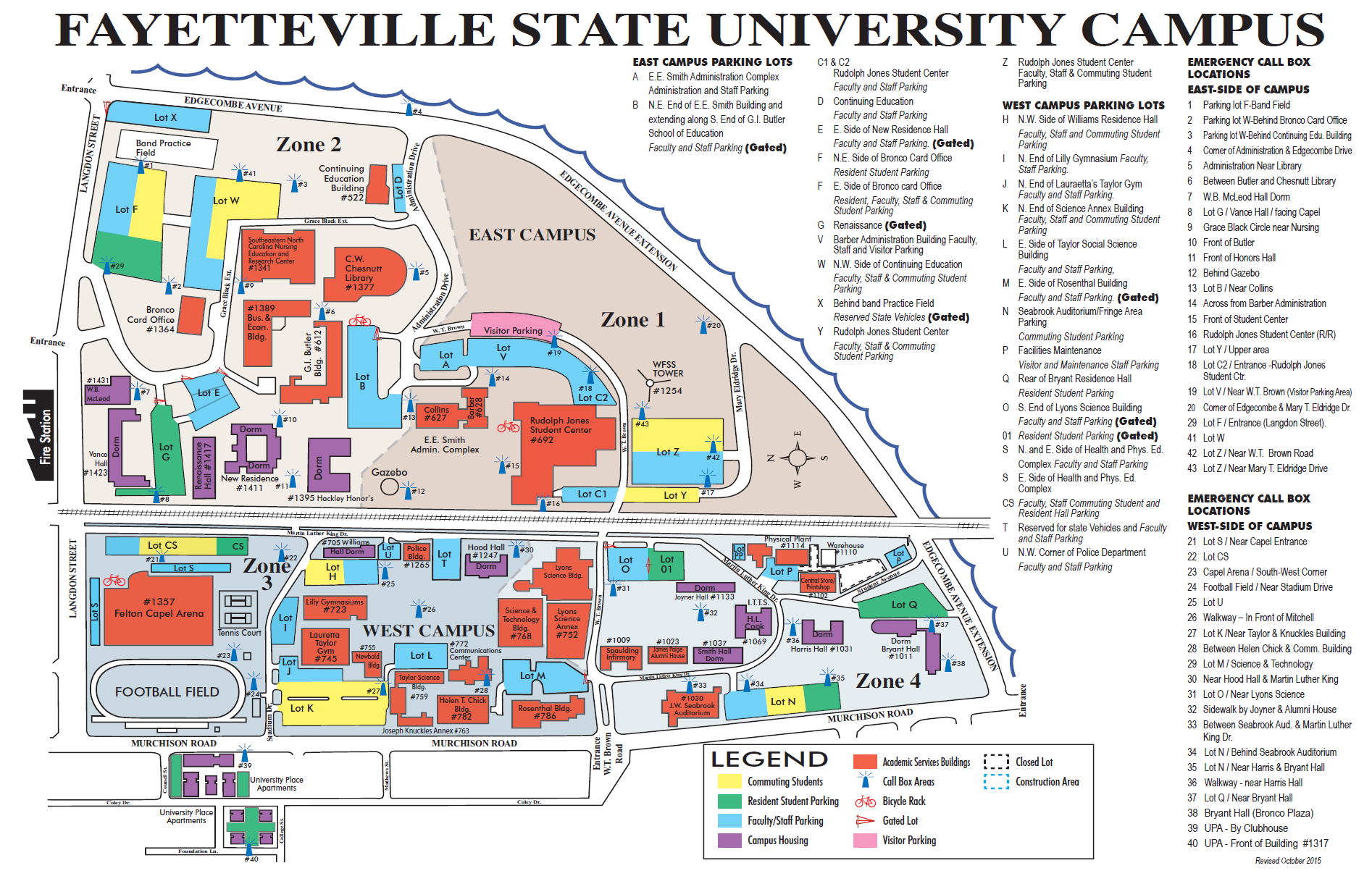 fayetteville state campus map First Steps Spring Orientation Coming Soon fayetteville state campus map