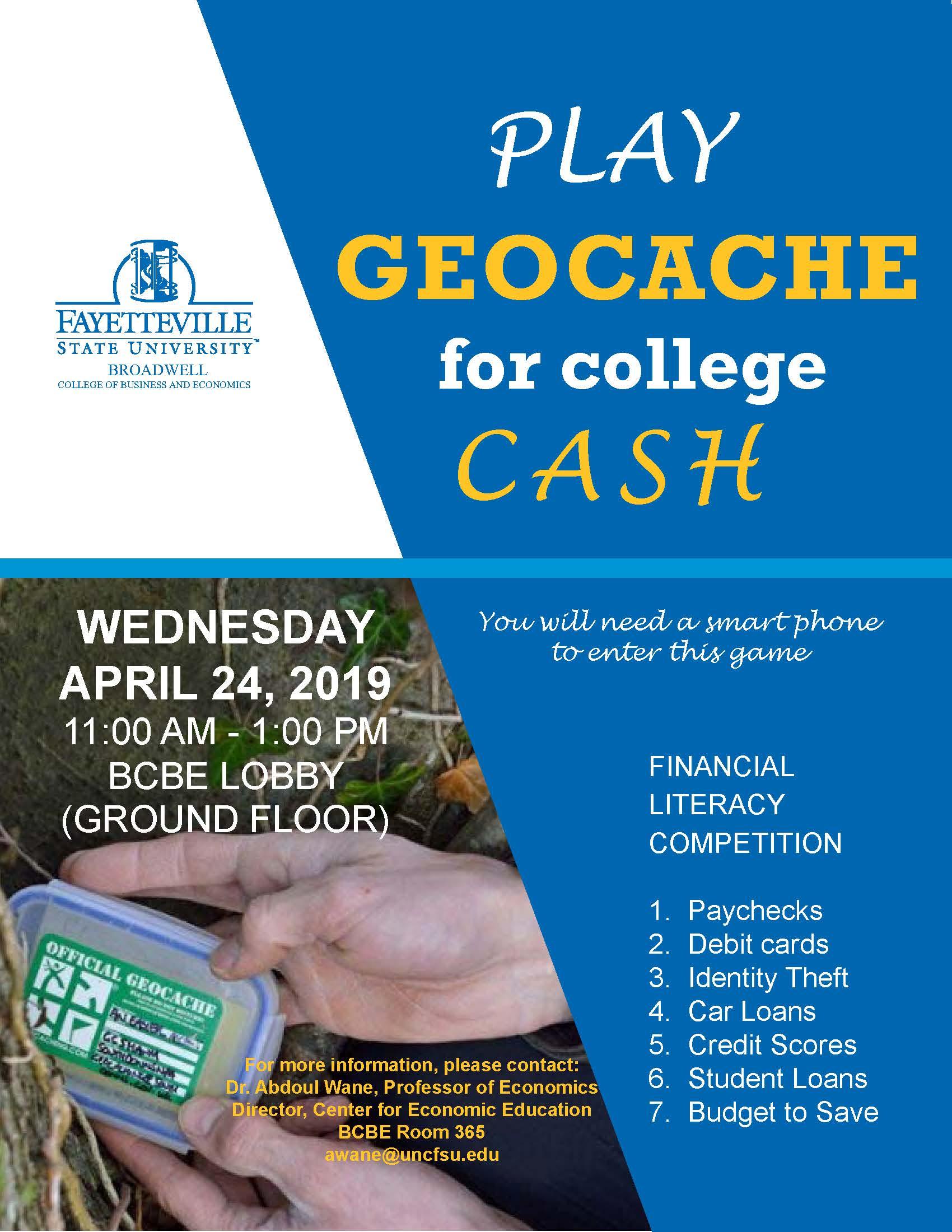 GeoCache Flyer