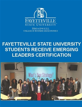 FSU Students Receive Emerging Leaders Certification