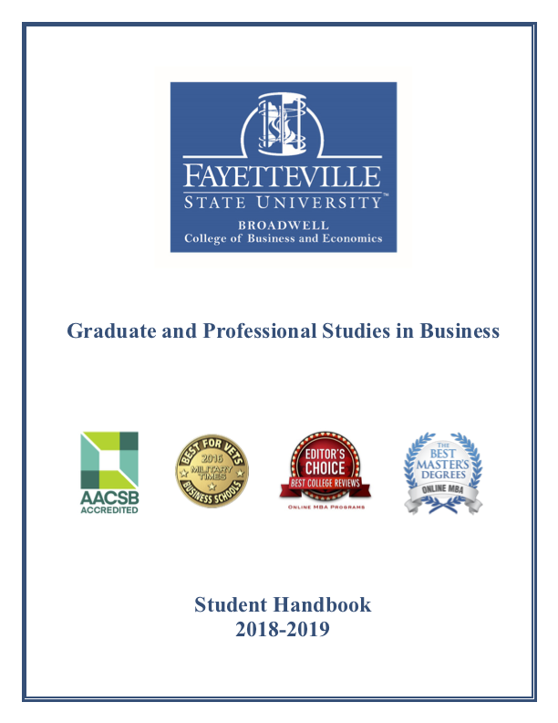 MBA program at Fayetteville State University