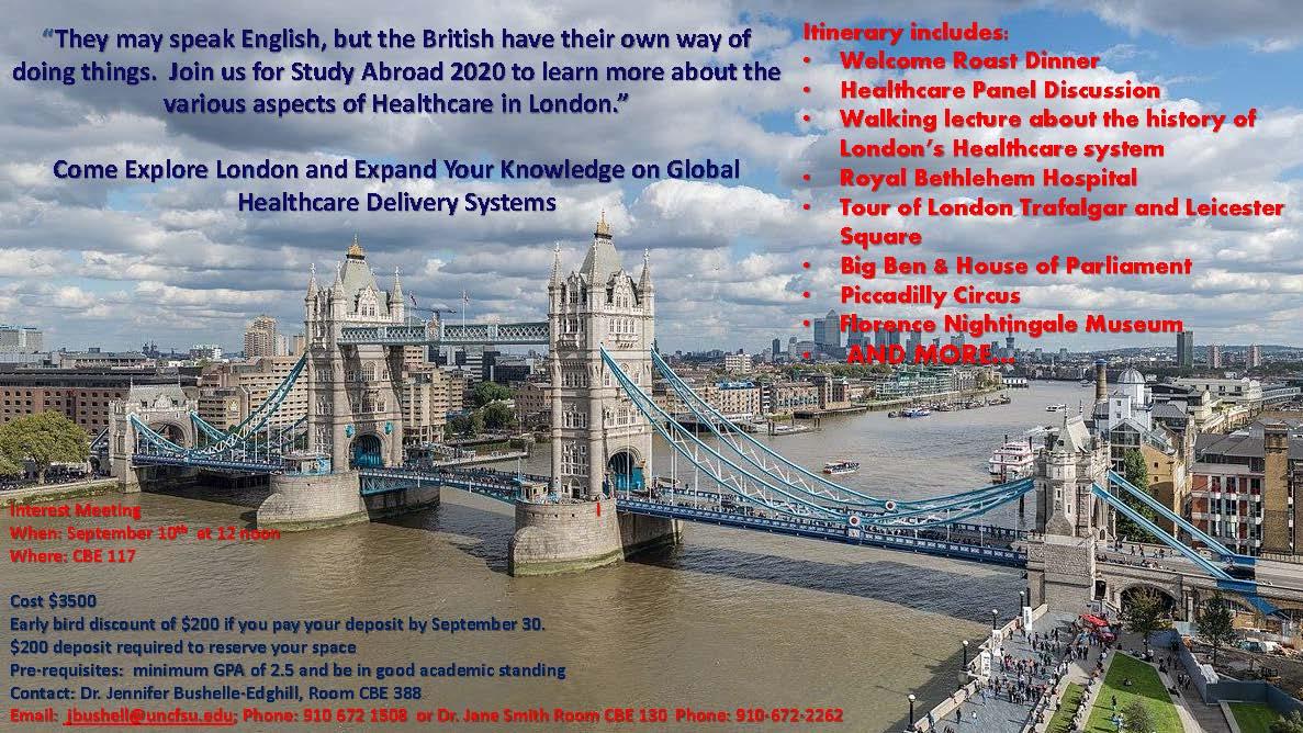 Study Abroad London 2020