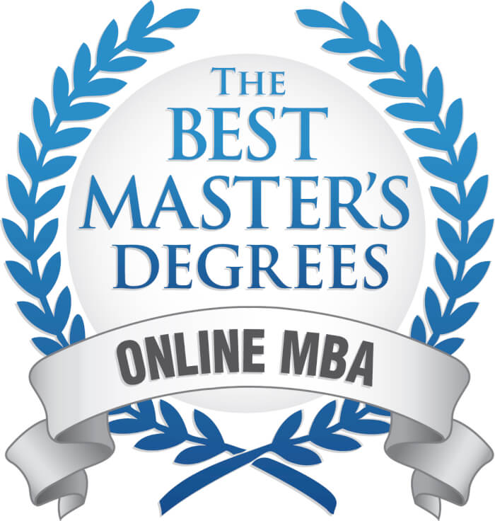 The Best Masters Degree Logo
