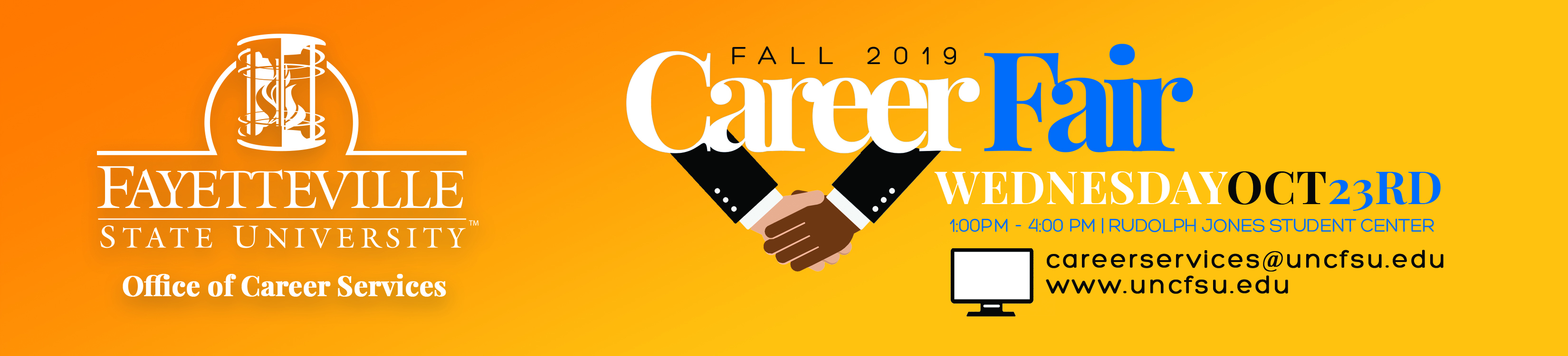 2019 Fall Career Fair Flyer