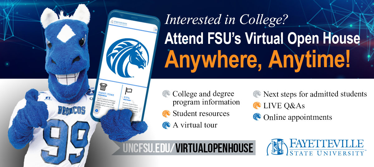FSU Virtual Open House Facebook post image