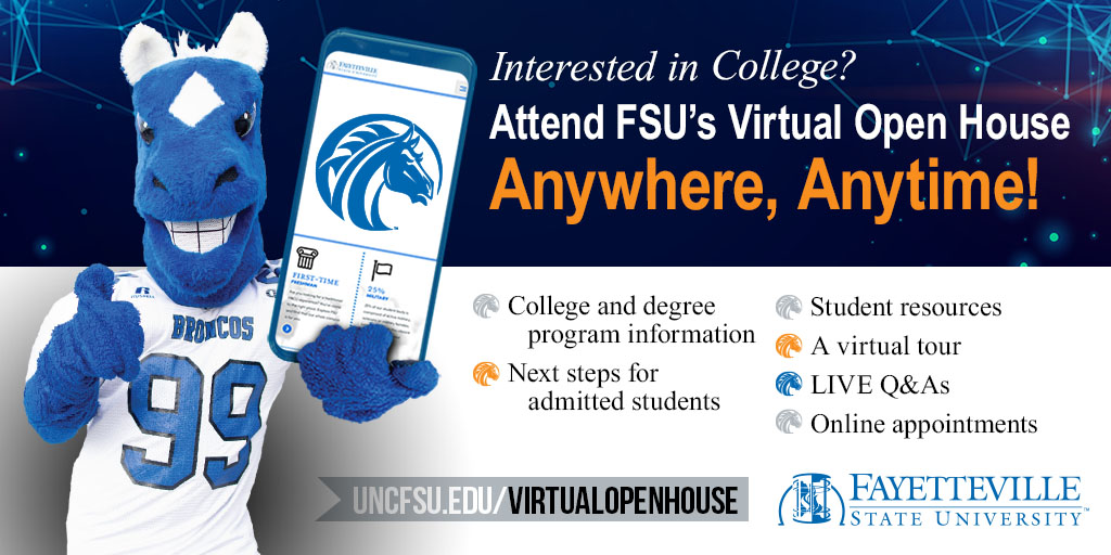 FSU Virtual Open House Twitter post image