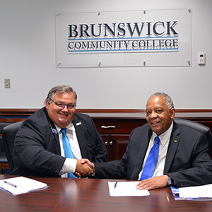 President at Brunswick Community College