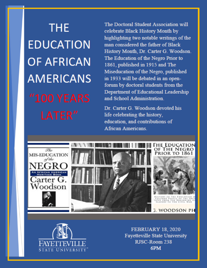 The Education of African Americans