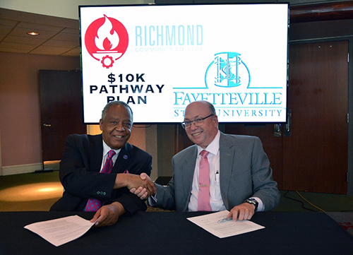 FSU signs agreement with RCC