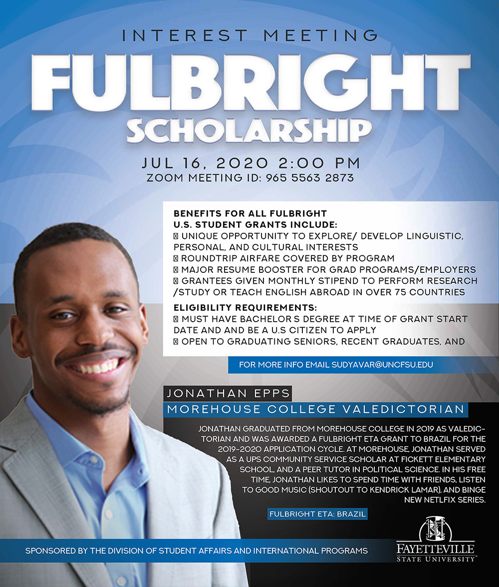 Fullbright Scholar Interest Meeting