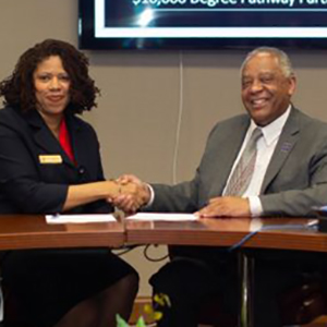 Chancellor signs with Piedmont Community College
