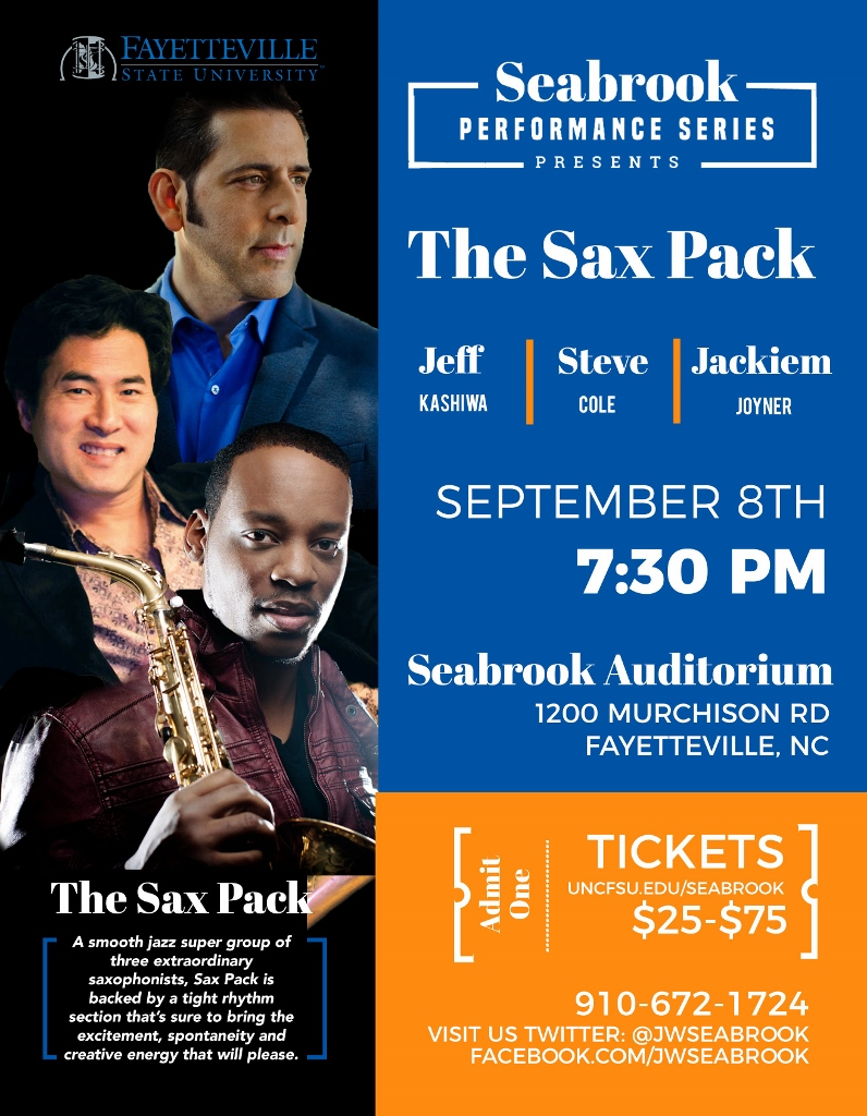 Sax Pack Flyer Info within Article