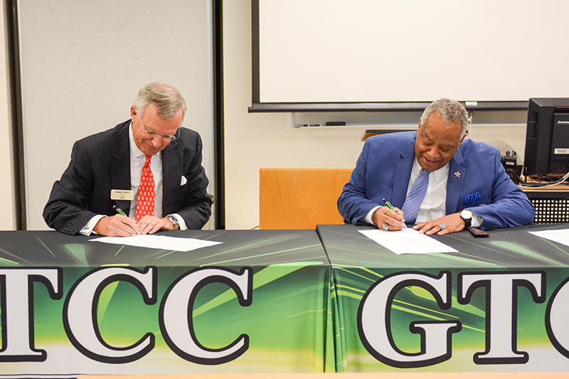 Signing of the 10k plan at GTCC