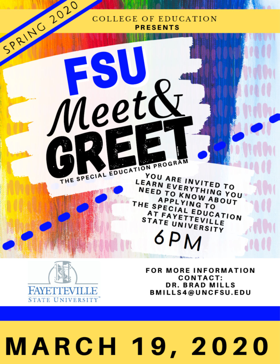 Spring 2020 Meet and Greet