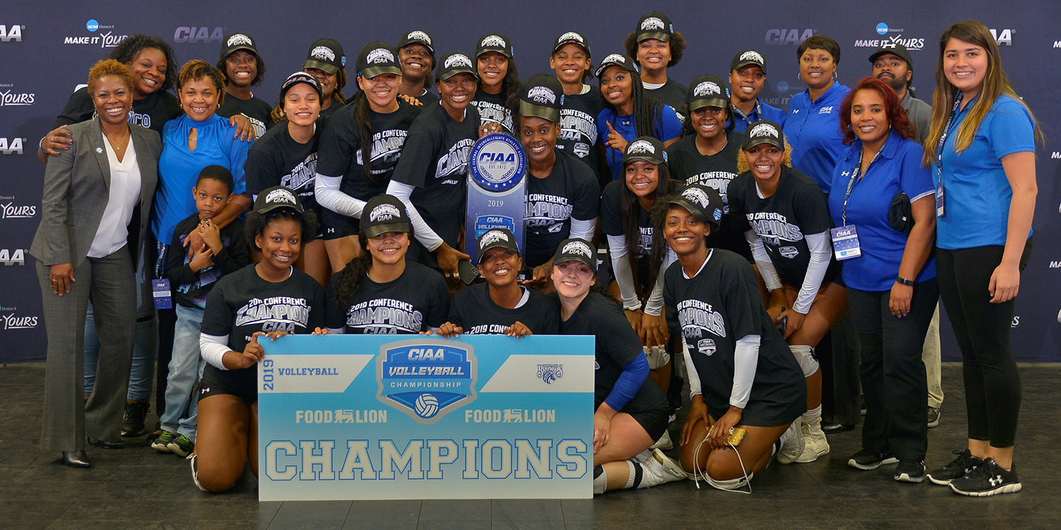 CIAA Volleyball Champions