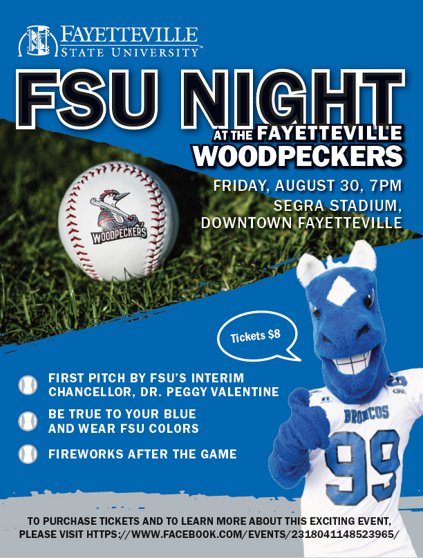 Fayetteville State University Night at Segra Stadium
