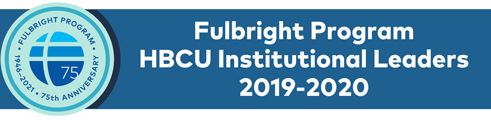 Fulbright Leaders 2019-20