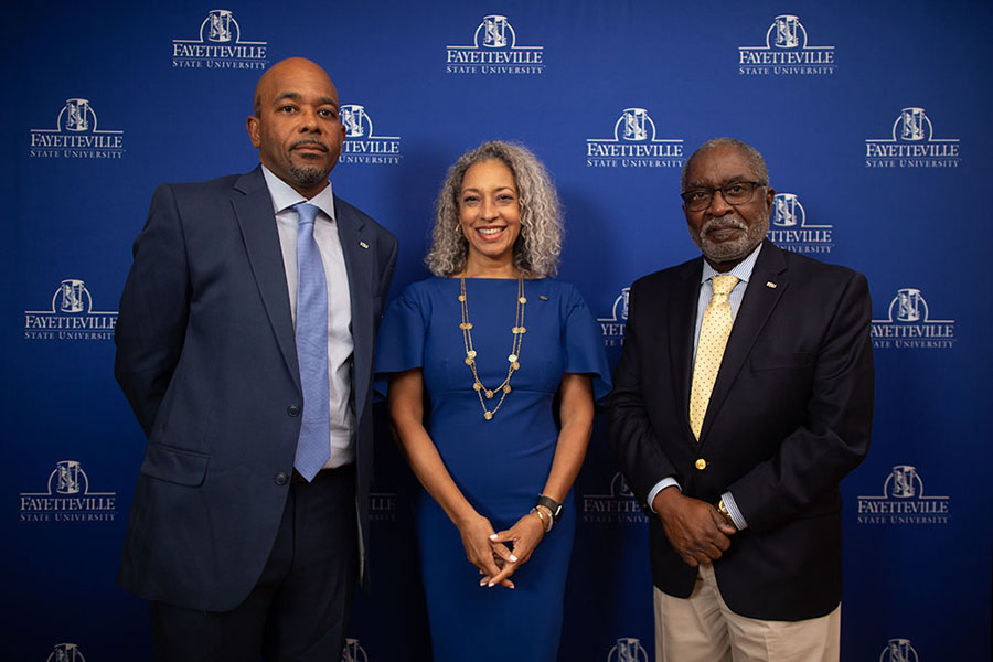 Trustee Gregory A. Pinnix, Trustee Dr. Kimberly Jeffries-Leonard, and Trustee Frederick Nelson, Jr.