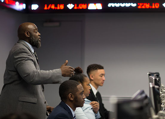 Fayetteville State University's MBA Students Aid NCDOT through MBA Certification Program