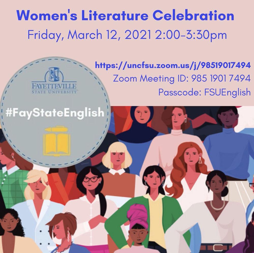 #TeamEnglish Women's Literature Celebration