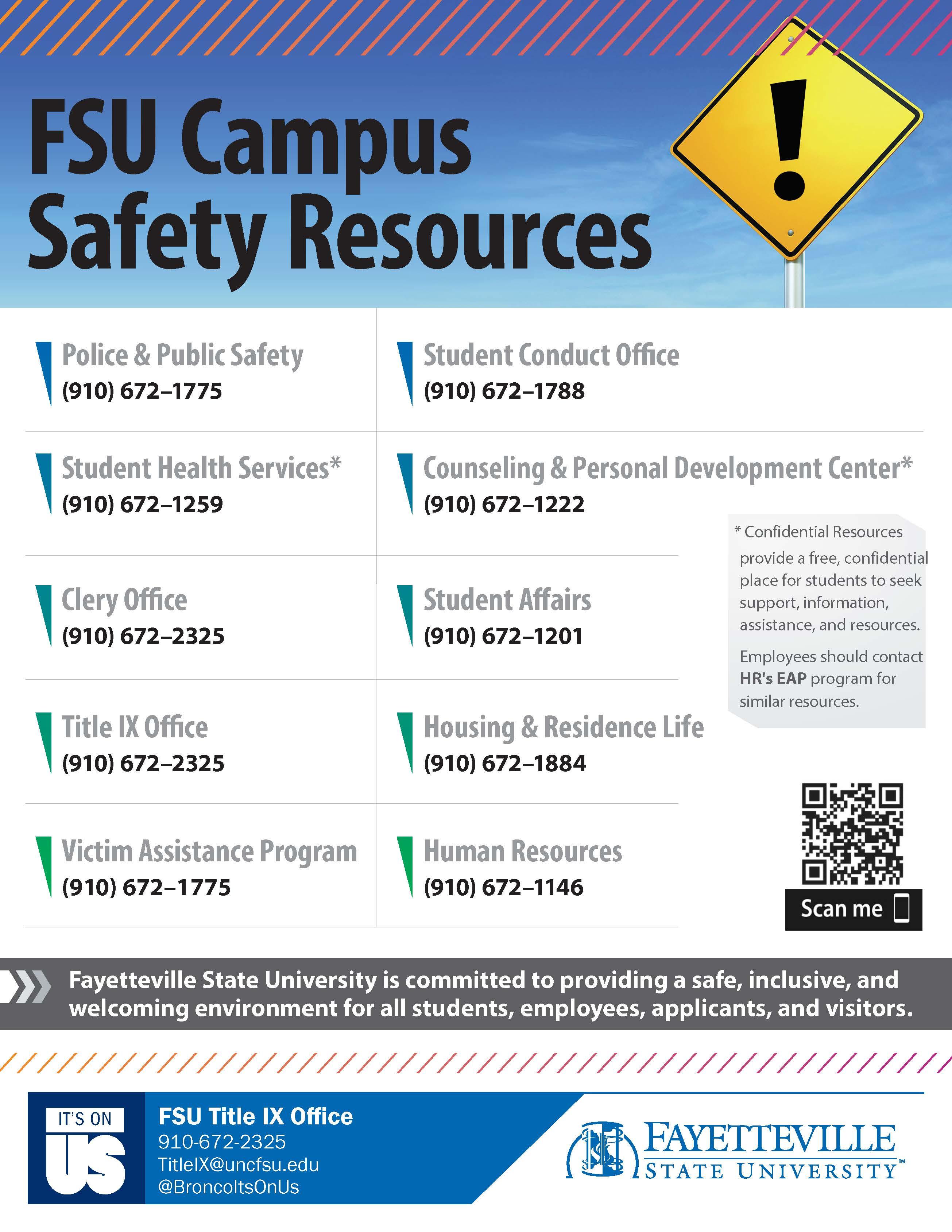 FSU Campus Safety Resources