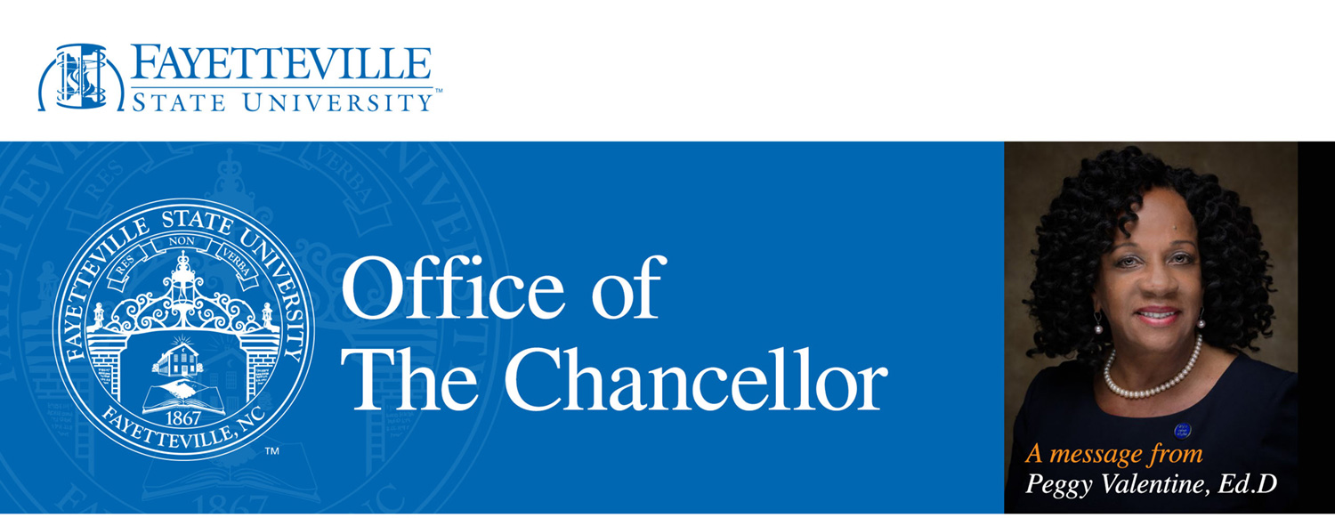 From the Office of the Chancellor