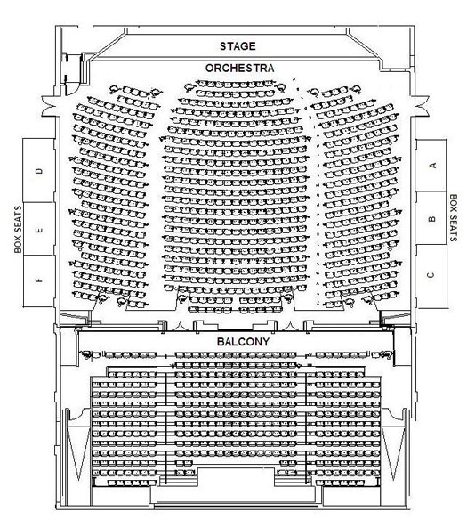 Seabrook Seating Chart Image