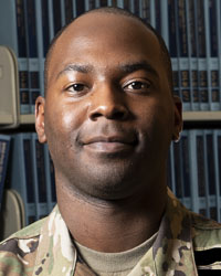 2nd Lt. Dwayne Bostic