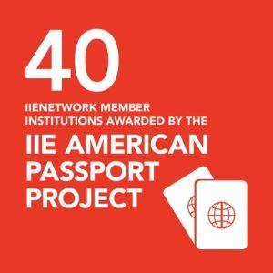 IIE American Passport graphic